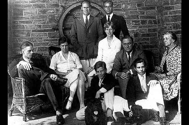 Рузвельт и его семья