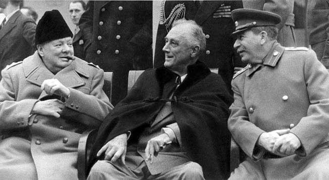 Ялтинская конференция 1945 г