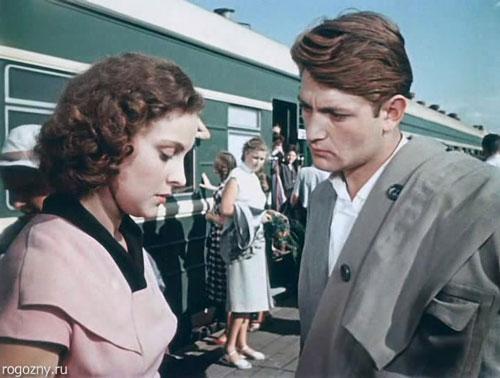 "Кадр из фильма ""Разные судьбы"" (1956 г)"