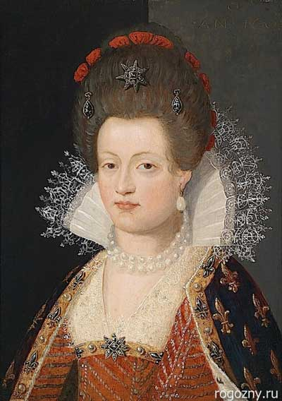 Прическа эпохи барокко - куафюра